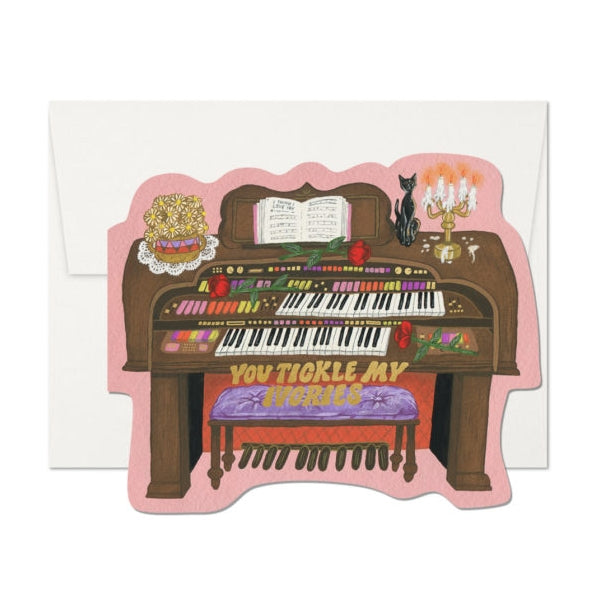 Red Cap Cards Tickle My Ivories Card