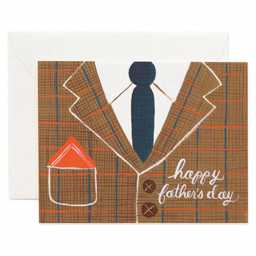 Rifle Paper Co. Father's Day Tweed Card
