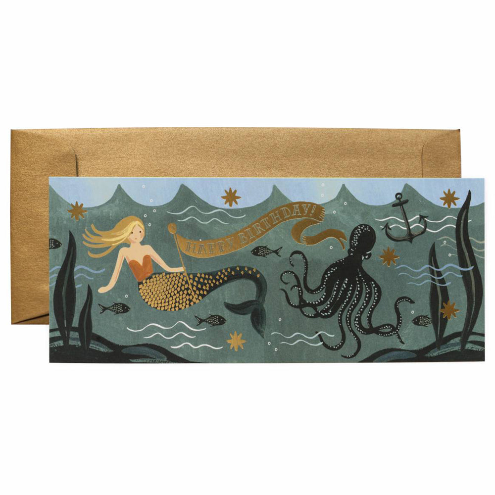Rifle Paper Co. Under The Sea Birthday No.10 Card