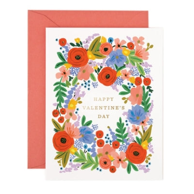 Rifle Paper Co. Valentine's Day Bouquet Card