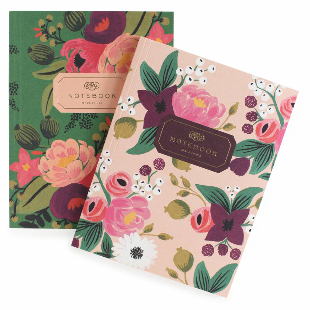 Rifle Paper Co. Pair of Vintage Blossom Notebooks