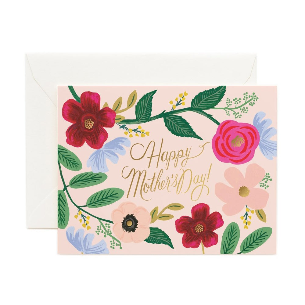 Rifle Paper Co. Wildflowers Mother's Day Card