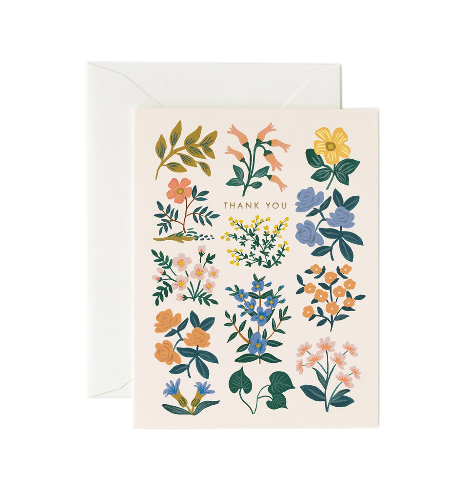Rifle Paper Co. Wildwood Thank You Card