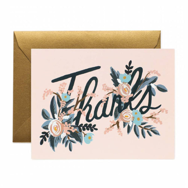 Rifle Paper Co. Woodland Thank You Card