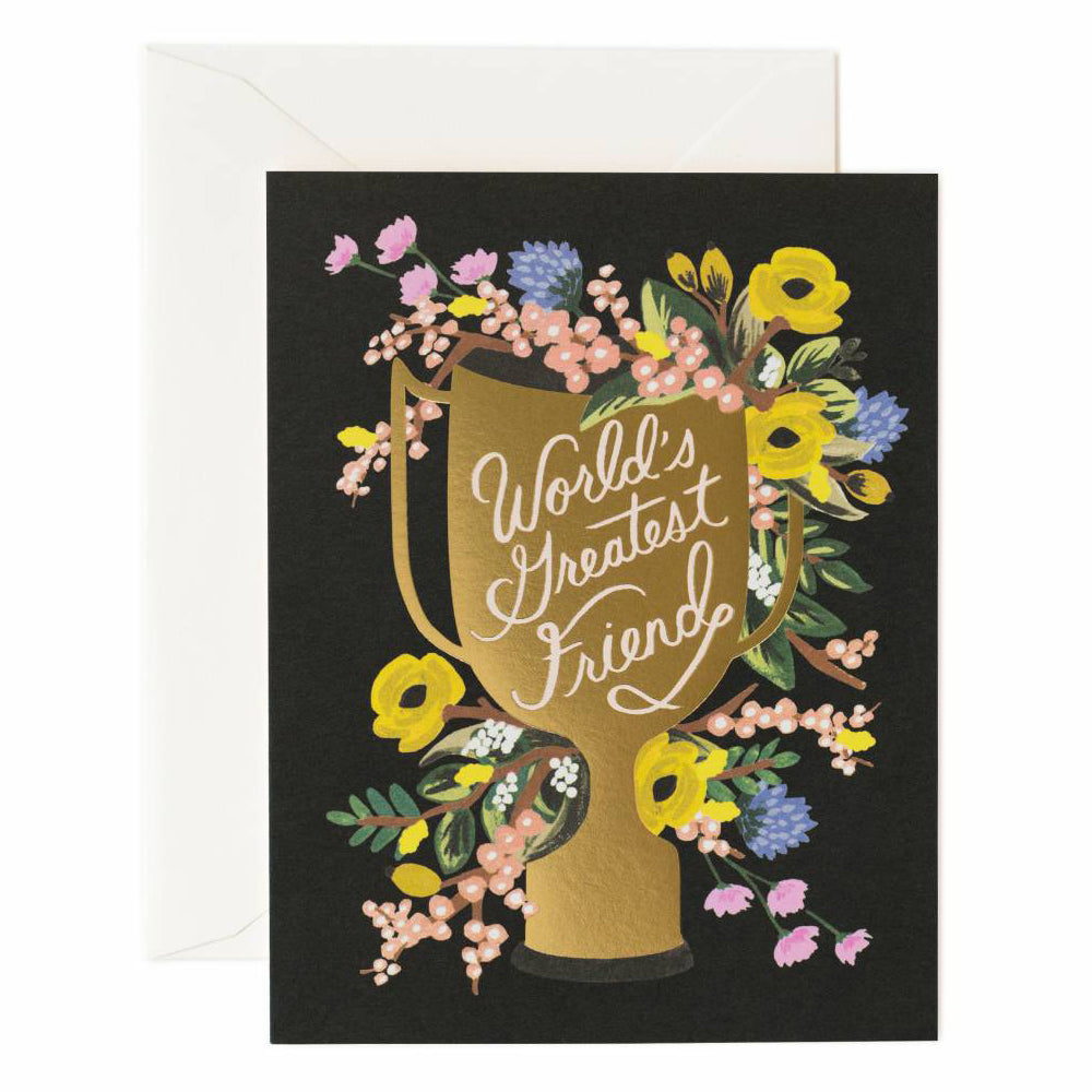 Rifle Paper Co. World's Greatest Friend Card