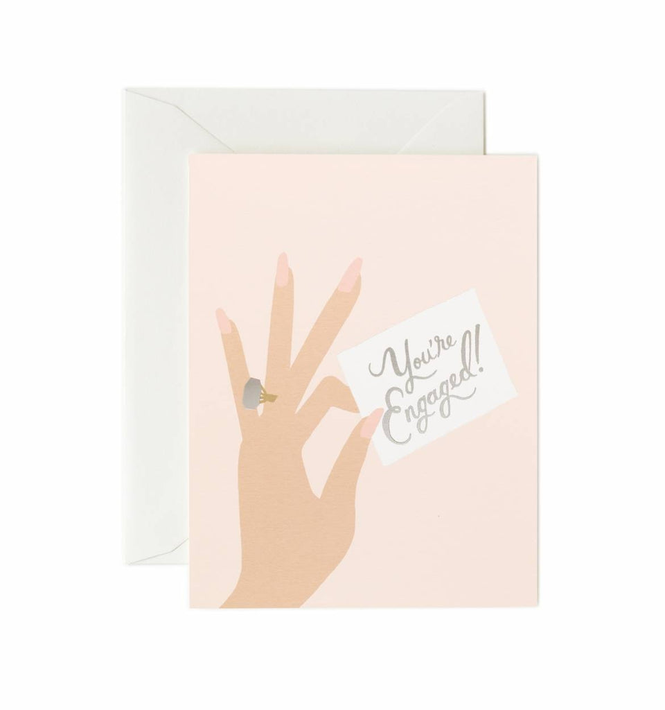 Rifle Paper Co. You're Engaged Card