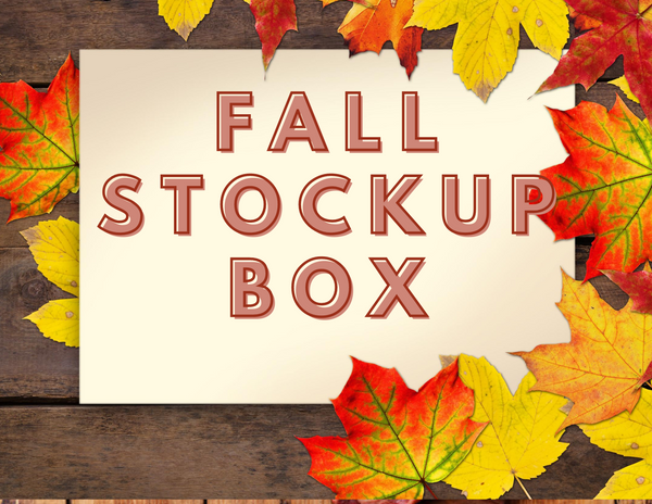 Fall Stockup Box