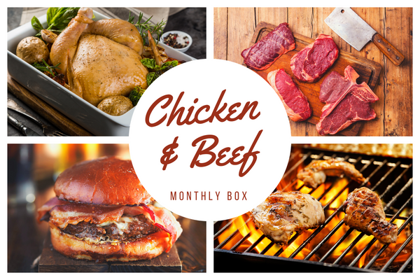 Chicken and Beef Monthly Box