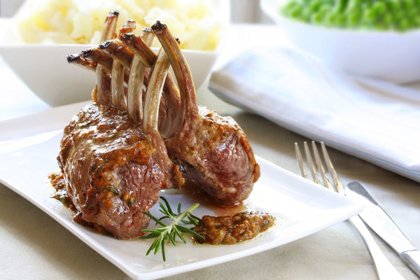 Maine Pasture-Raised Rack of Lamb