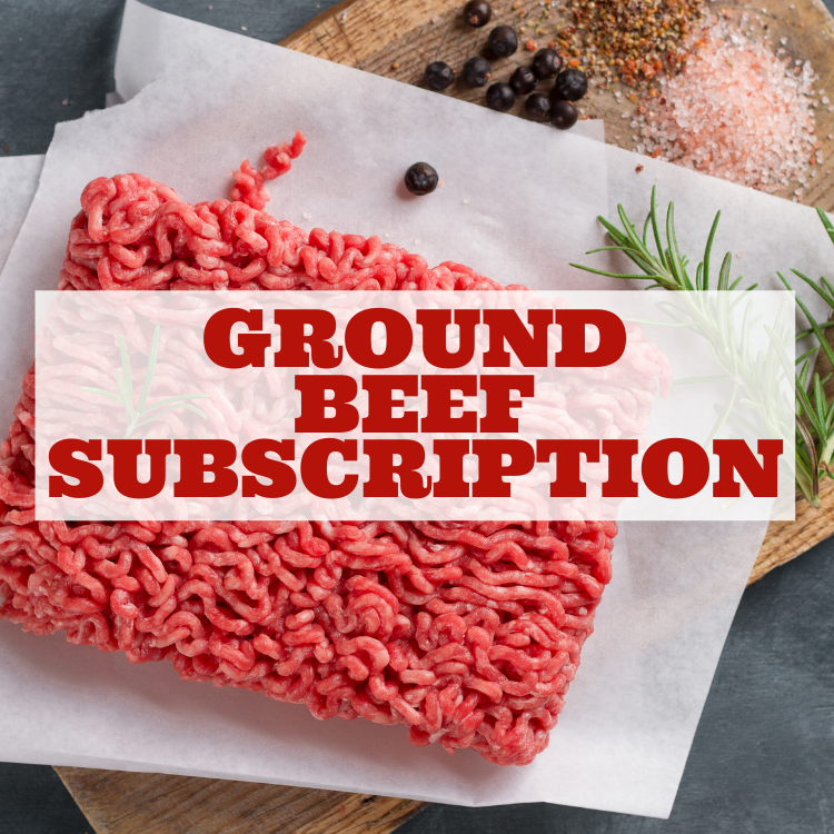 Ground Beef Subscription - SAVE