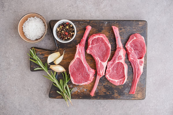 Maine Pasture-Raised Rib Lamb Chops