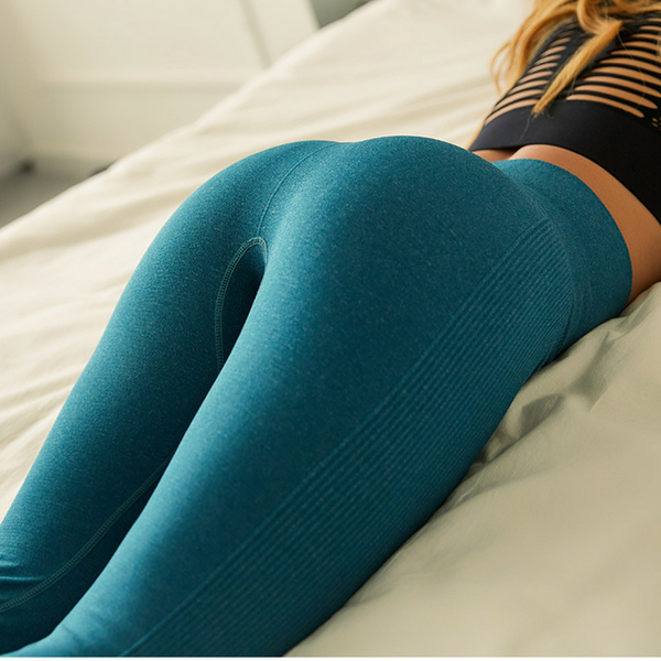 Classic Booty Teal High Rise Legging