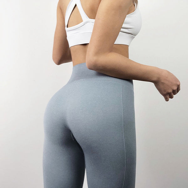 Classic Booty Silver Gray High Rise Legging