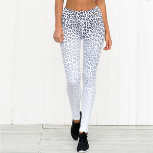 Love Me Some Leopard White and Black Print Legging