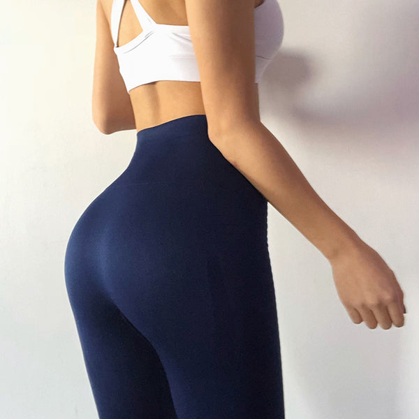 Booty Babe Navy Seamless High Rise Legging