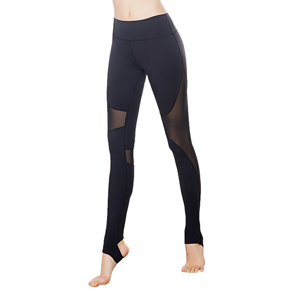 Oh My Mesh Sculpt Black Legging
