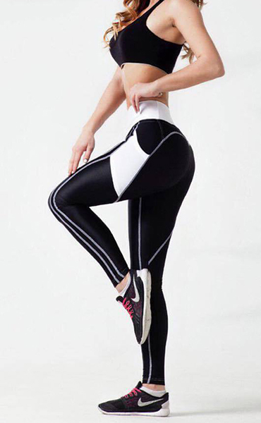 Oh My Booty Black and White Legging
