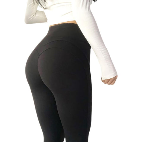 Signature Curve Black High Rise Legging