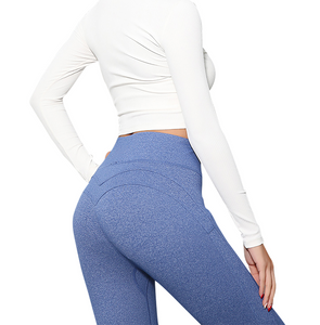 Signature Curve Blue High Rise Legging
