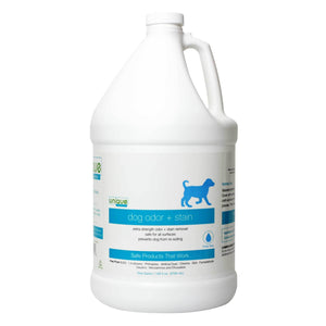 Gallon sized advanced dog odor and stain eliminator. Break down old stains and eliminate bad odors.