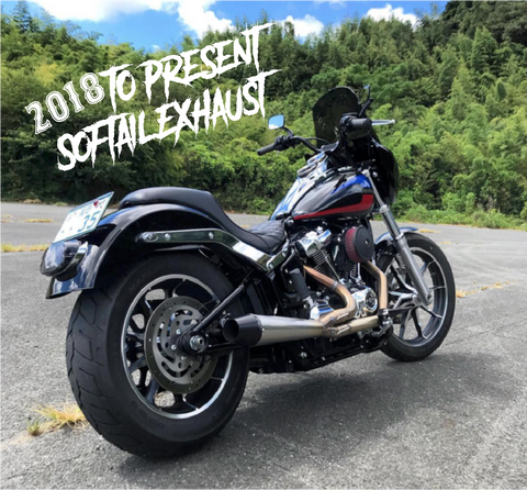 2018 and later  Softail 2-1 Exhaust - In-Stock