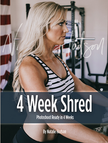 Four Week Shred eBook