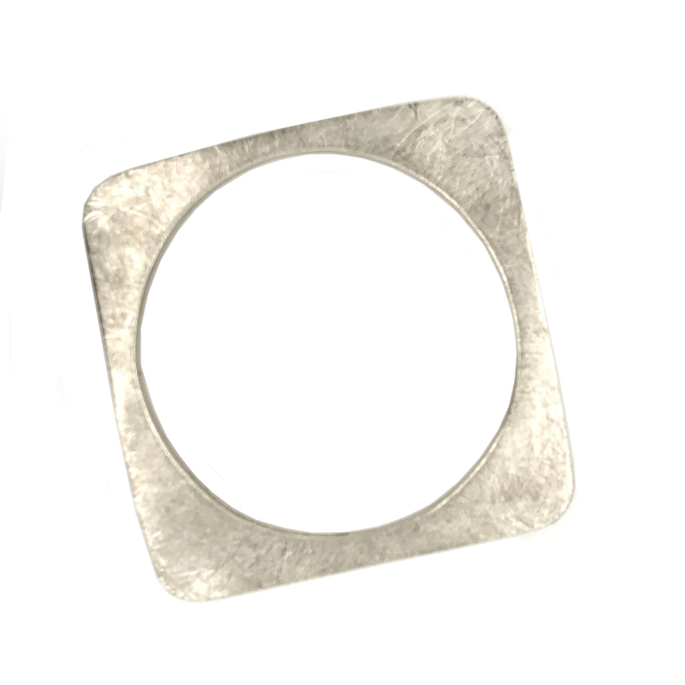 STERLING SILVER SQUARE BOX BANGLE