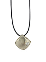 STERLING SILVER FRESH WATER PEARL DOUBLE SIDED PENDANT  - CHAIN NOT INCLUDED