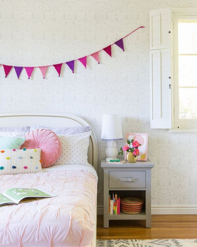 Before & After: A Girl's Room Transformation by Emily Henderson