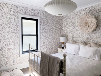 Why Designer Alanna Dunn Chose Peel and Stick Wallpaper for Her Guest Room