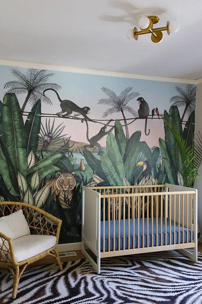 Before & After: Bengal Sunrise Nursery