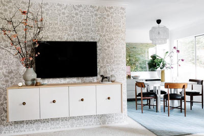 Wallpaper Marks a Fresh Start in this Sweet Makeover From One Sister to Another