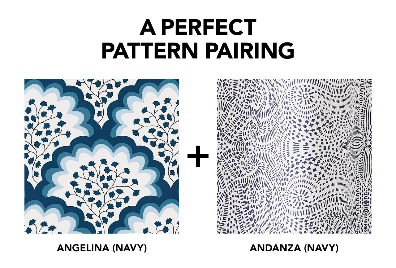 Angelina Navy + Andanza Navy | Hygge & West