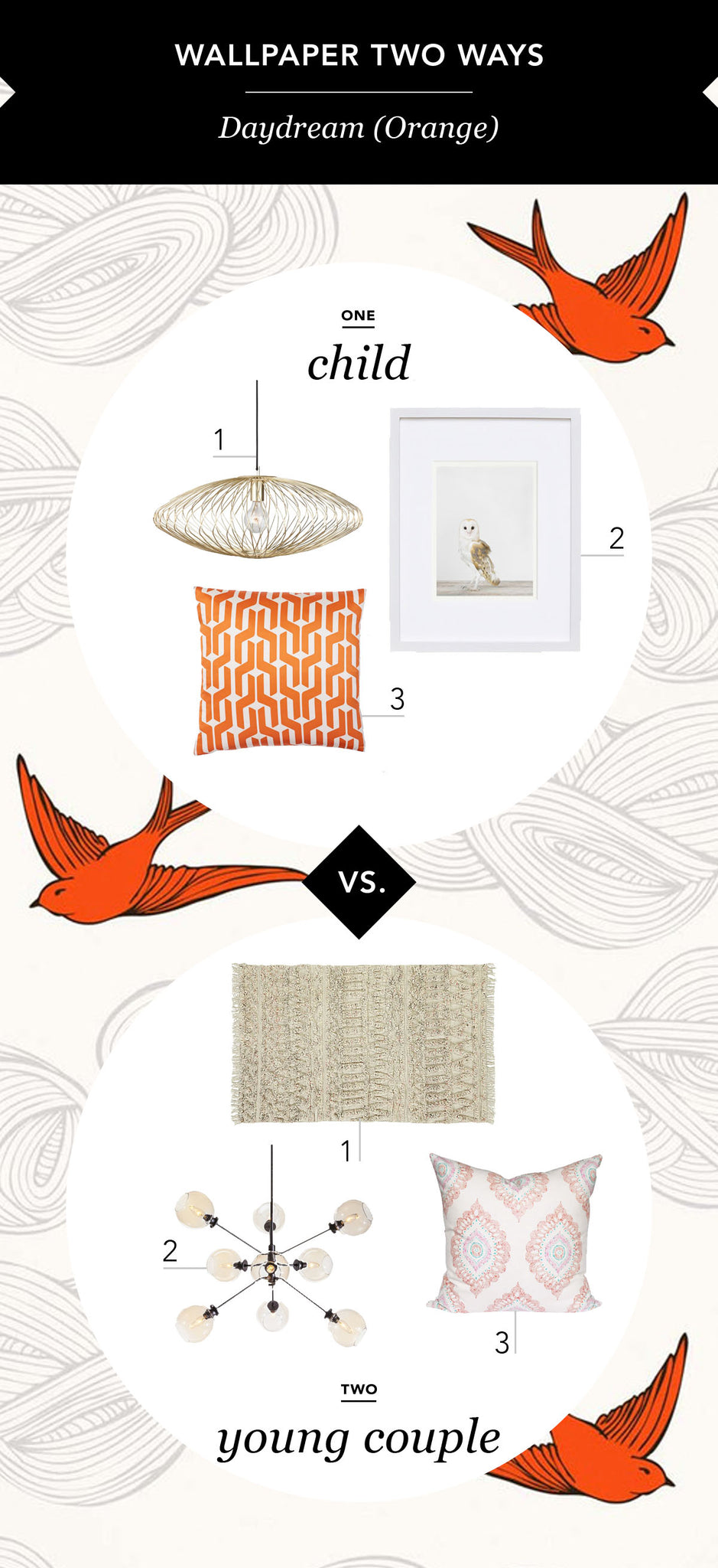 Wallpaper Two Ways with Leclair Decor