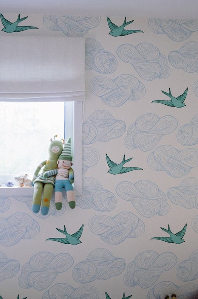 Daydream Green wallpaper | Julia Rothman | Hygge & West