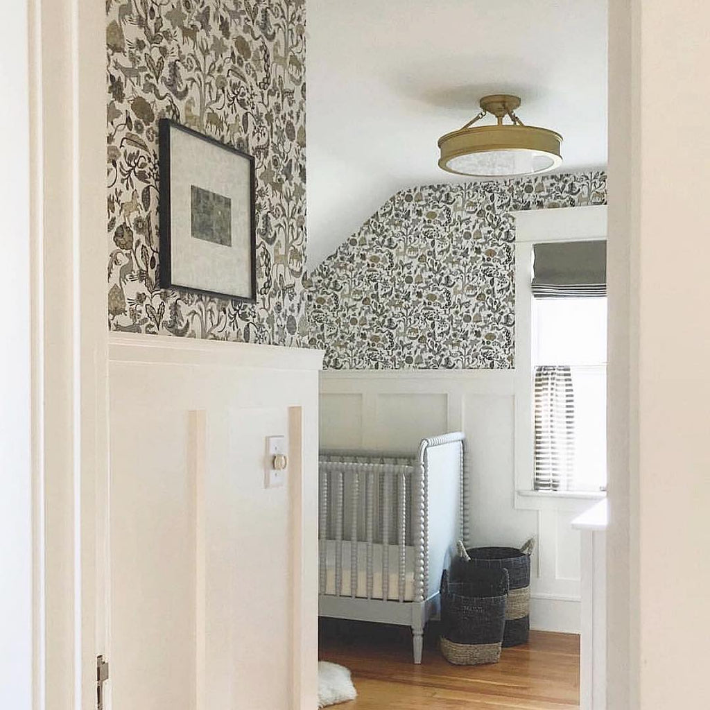 Foret Gold wallpaper | Julia Rothman | Hygge & West