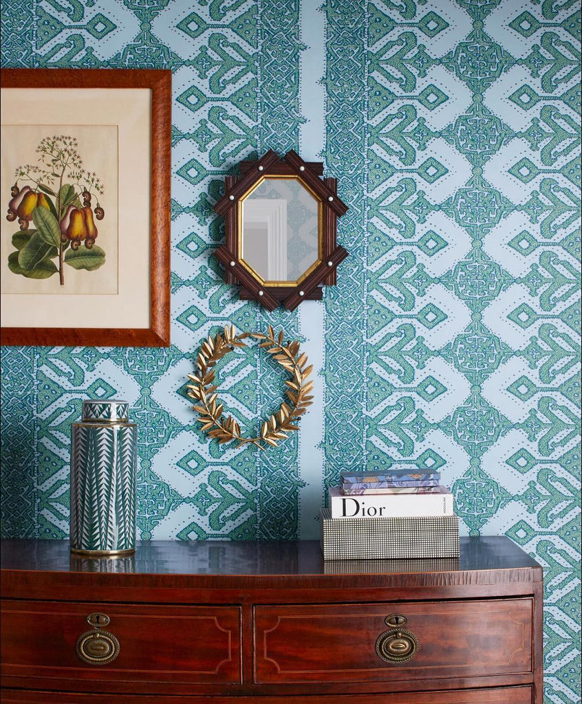 Pombal Emerald Sky wallpaper | Tilton Fenwick | Hygge & West