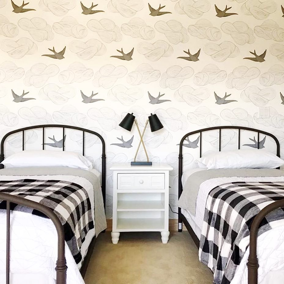 Daydream Black wallpaper | Julia Rothman | Hygge & West