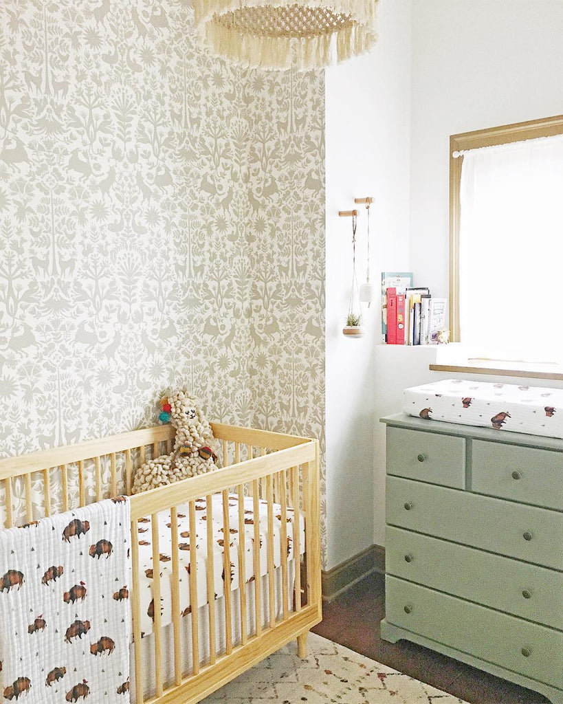 Otomi Taupe wallpaper | Emily Isabella | Hygge & West