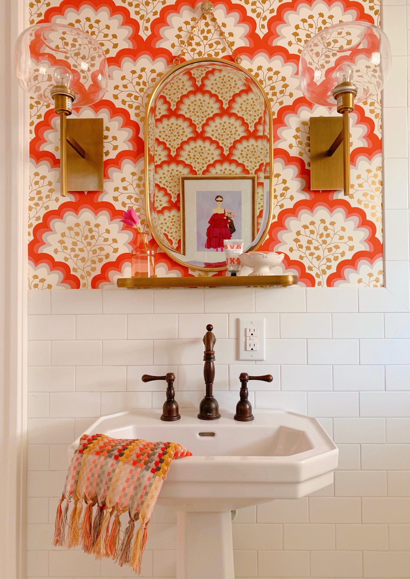Angelina (Coral) Bathroom