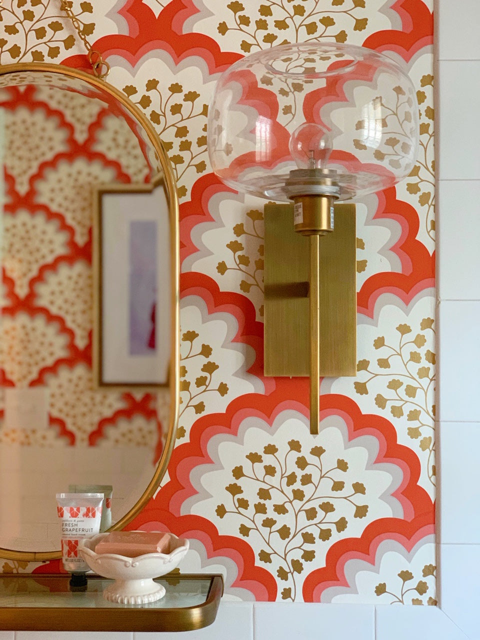 Angelina (Coral) Bathroom Makeover
