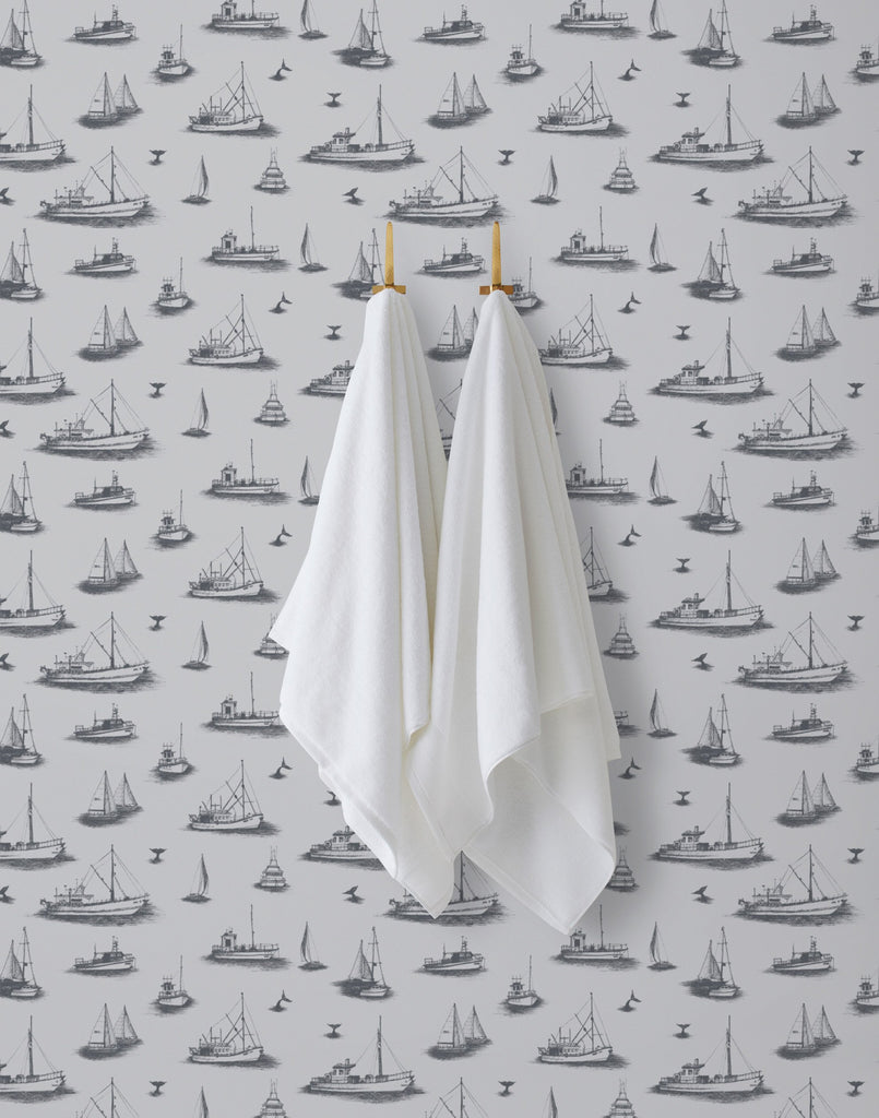 Ahoy! Fog wallpaper | Allira Tee | Hygge & West
