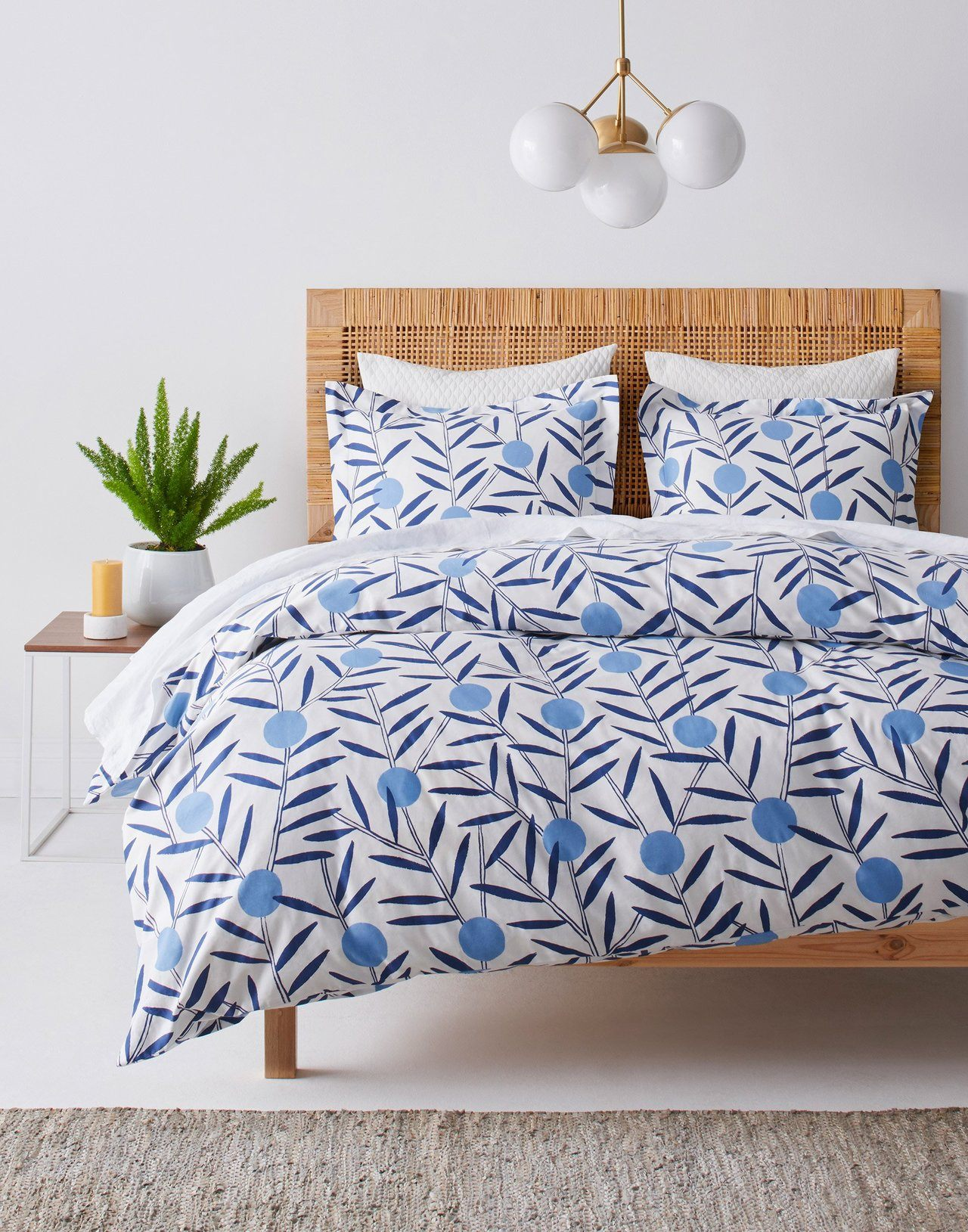 Pattern Players | Emily Isabella | Bloom Bluebell bedding  Hygge & West
