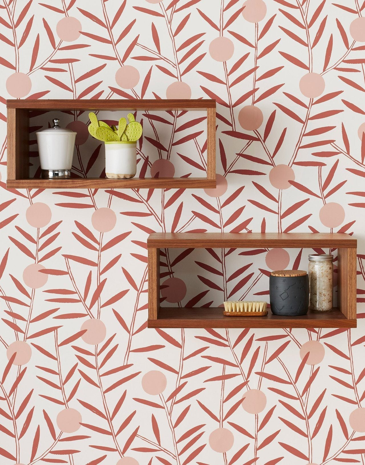 Pattern Players | Emily Isabella | Bloom Dusty Rose wallpaper | Hygge & West
