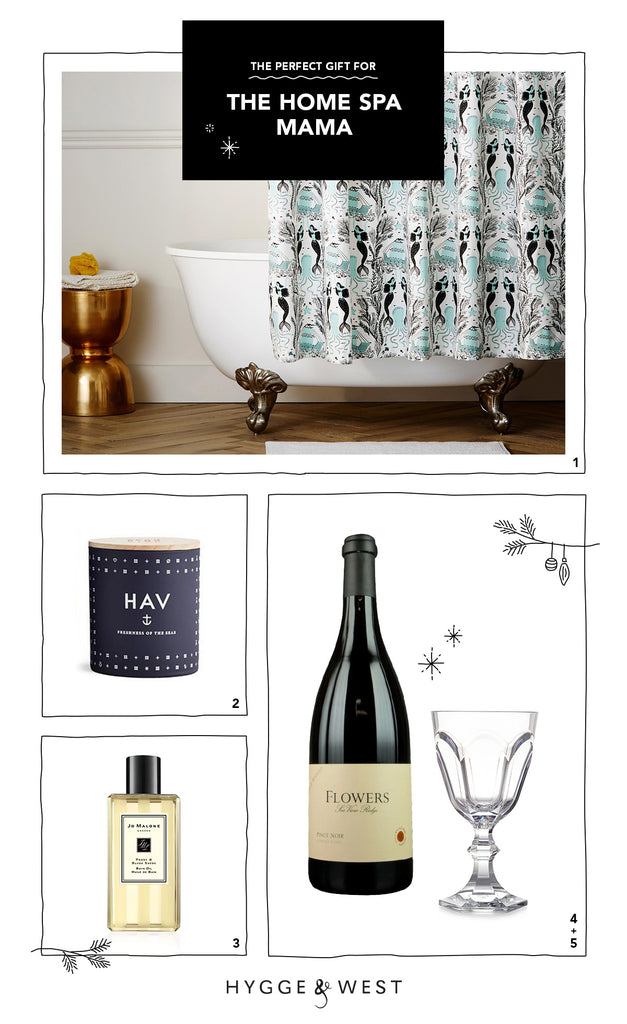 Hygge & West Gift Guide Mom Spa