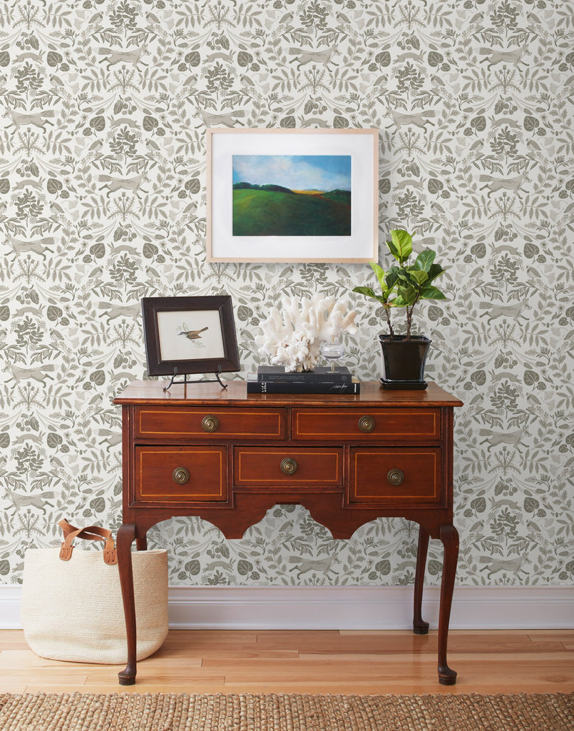 Piedmont Taupe wallpaper | Helmsie | Hygge & West