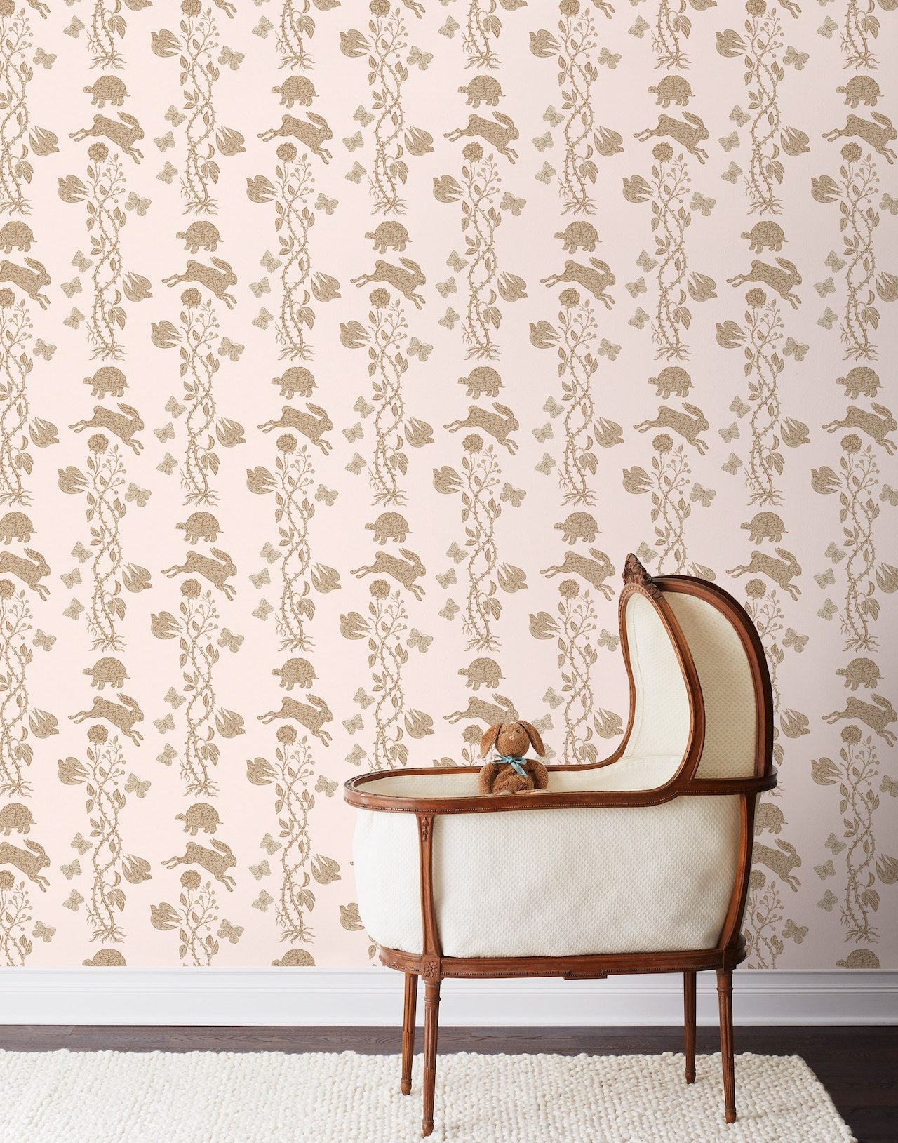 Pattern Players: PATCH NYC | Fable Blush wallpaper | Hygge & West