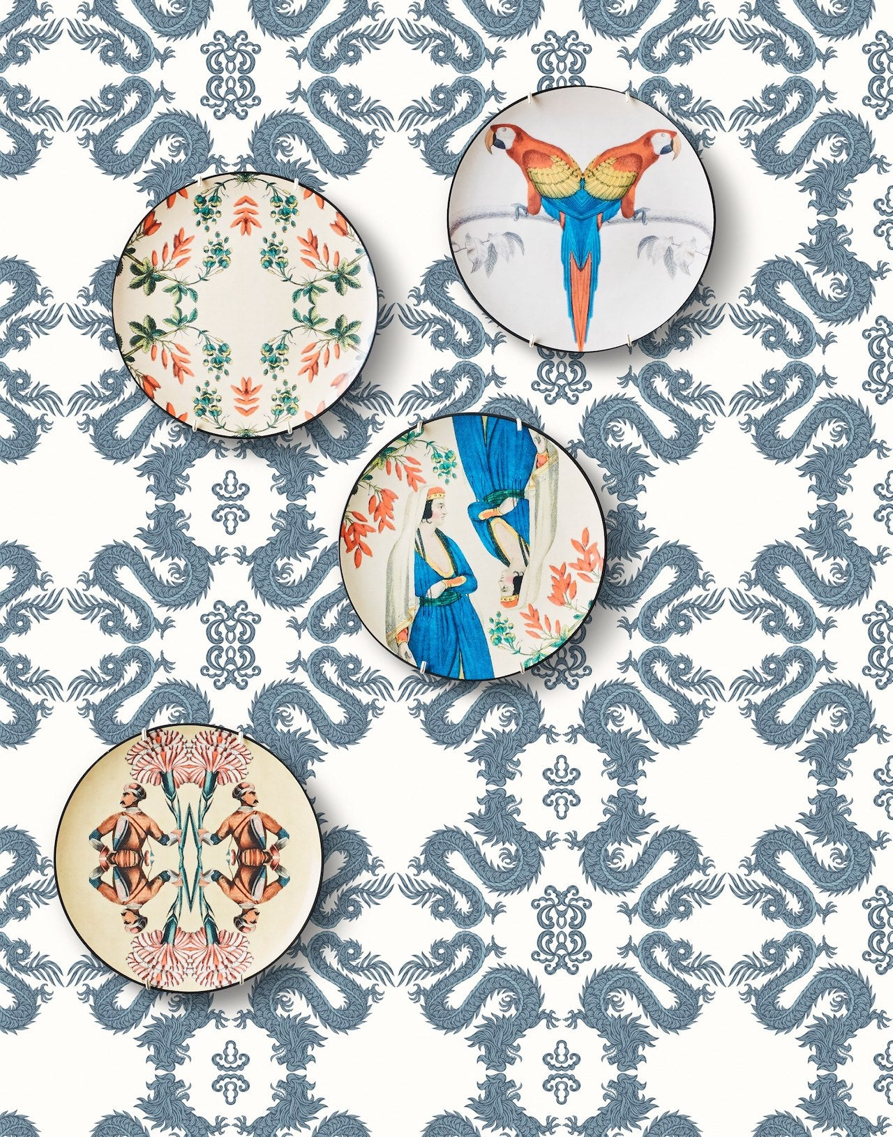 Pattern Players: PATCH NYC | Fortune Chinoiserie wallpaper | Hygge & West