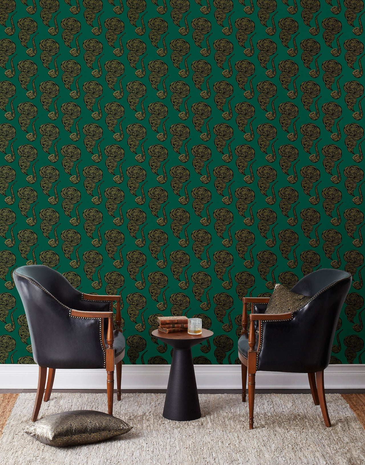 Pattern Players: PATCH NYC | The Gentleman Hunter wallpaper | Hygge & West