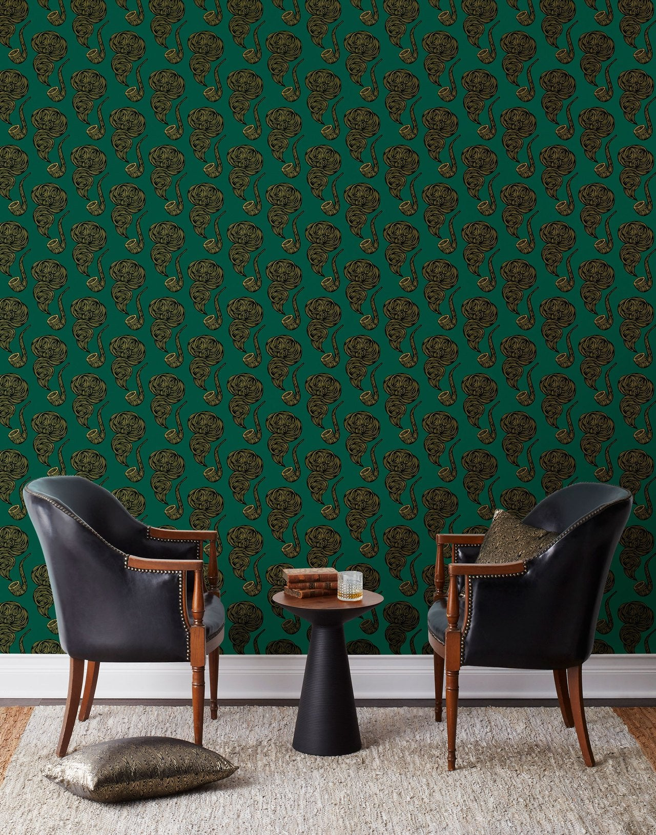 Product + Pattern: Scott McGlasson | Woodsport | The Gentleman Hunter wallpaper | PATCH NYC | Hygge & West